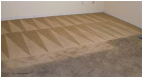dirty carpet before and after